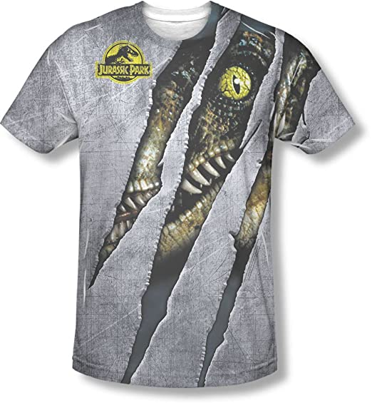 8c7a88afaa054 Jurassic Park - Mens Live Raptor T-Shirt  Amazon.co.uk  Clothing