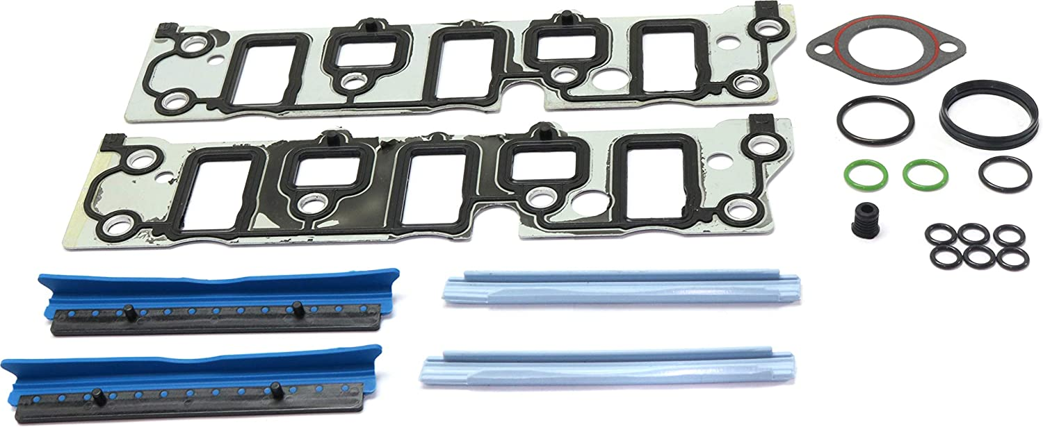 Intake Manifold Gasket Compatible with 2005-2009 Buick Allure Lower Set