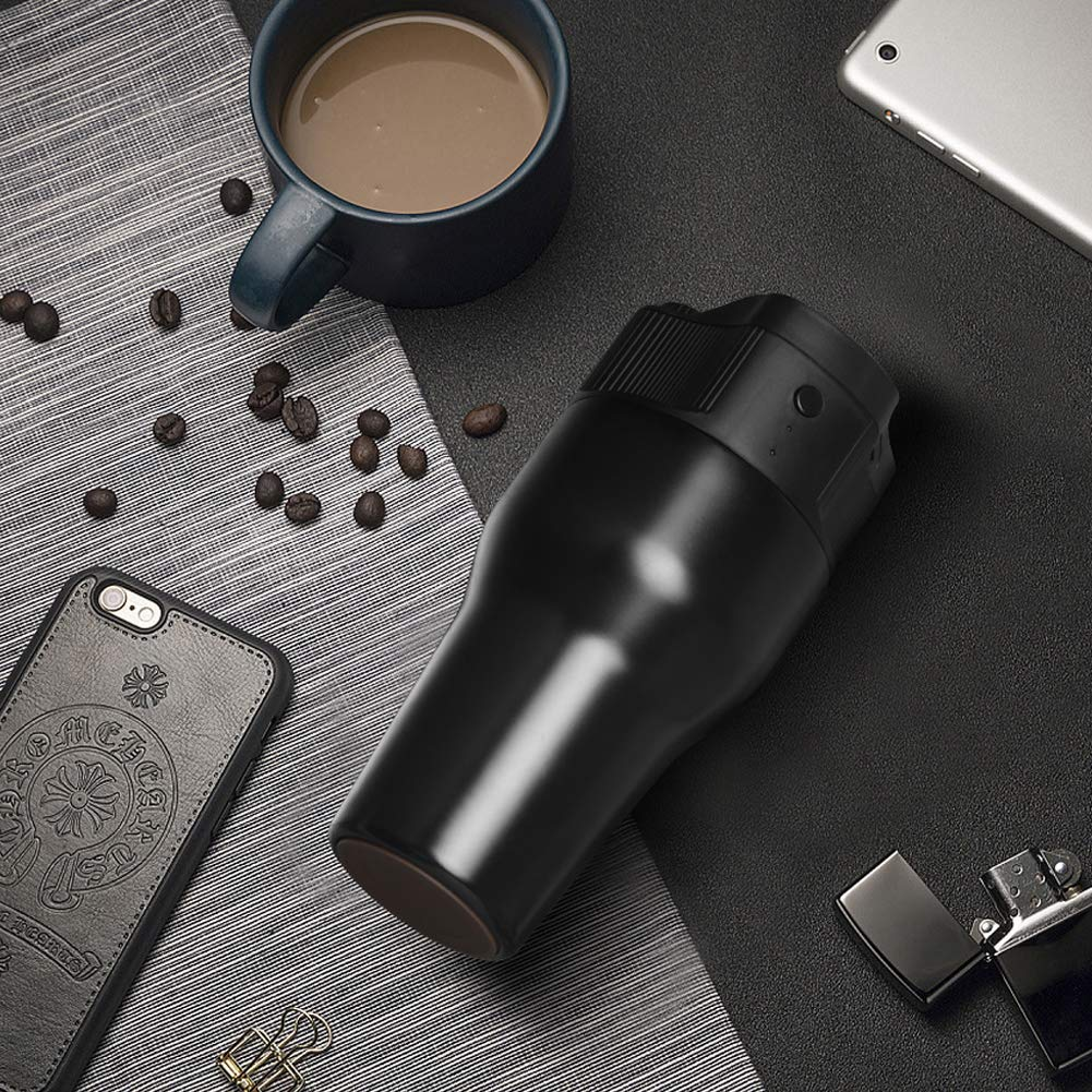 Mini Automatic Espresso Machine Capsule Coffee Maker for Home Portable Outdoor Coffee Machine
