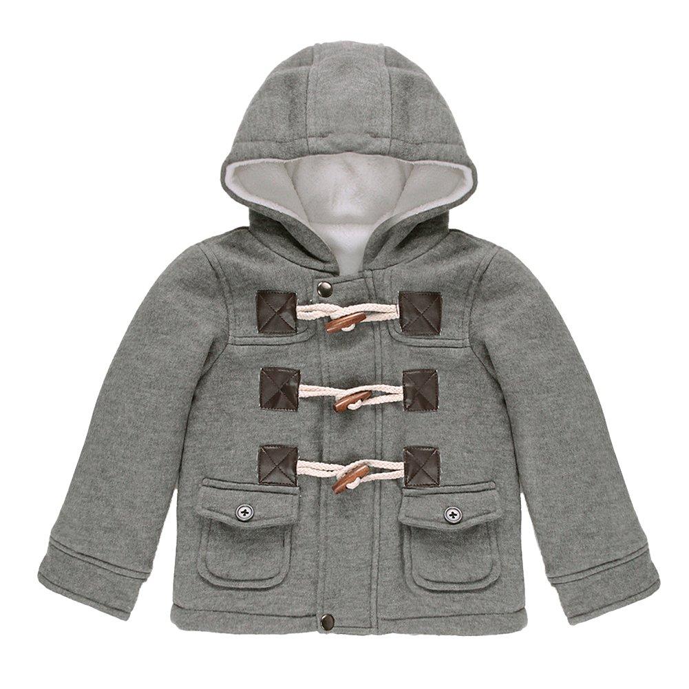 Evelin LEE Gown Baby Kids Boys Winter Warm Hoodie Snow Coat Jacket Outwear