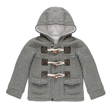 5c4dc350bf78a CHIC-CHIC-Manteau Duffel-coat Hiver pour Bébé Garçon Fille à Capuche Blouson
