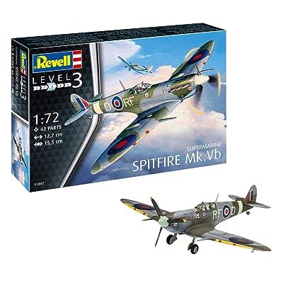 Revell 03897 Supermarine Spitfire Mk.VB, Multi Colour, 1: 72 Scale: Toys & Games [5Bkhe1103775]