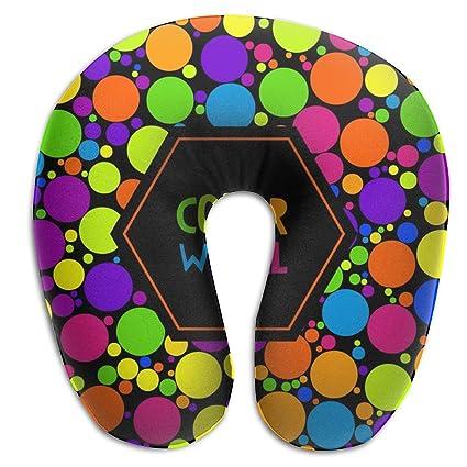 Almohada para el Cuello de Color Wheel, cómoda y Suave ...