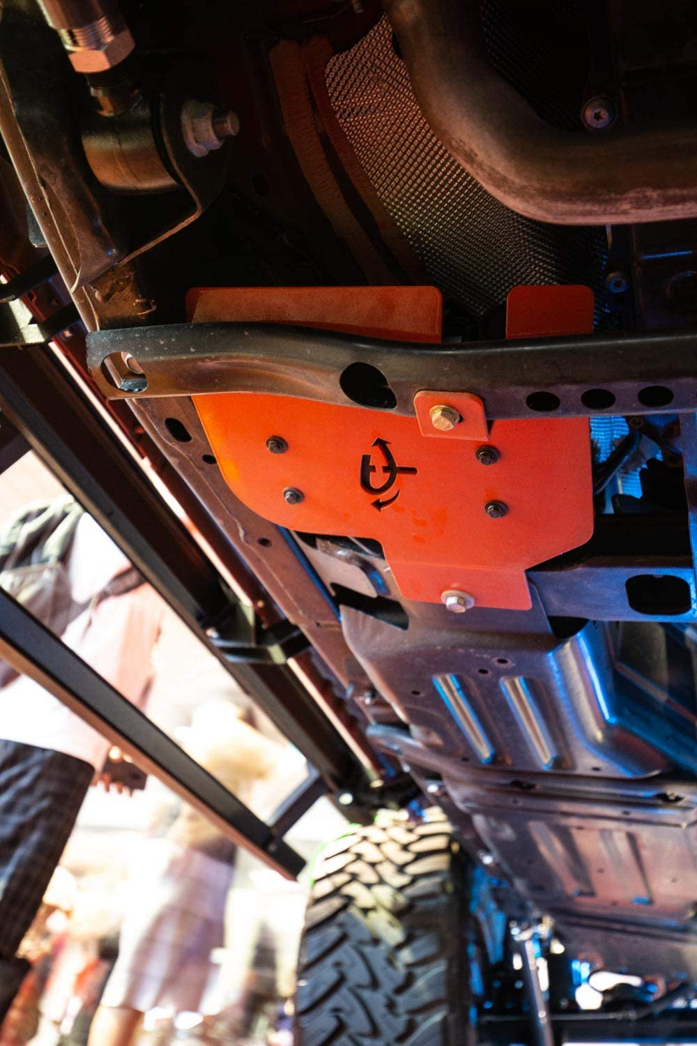 Up Down Air 22-1819 Arb Skid Plate Mounting