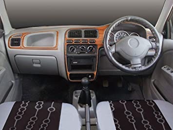 Autographix Maruti Suzuki Alto K LxiVxi Basic Dashboard Trims - Graphics for alto car