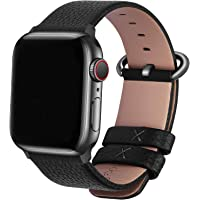Fullmosa Compatible Apple Watch Band 38mm 40mm 42mm 44mm Calf Leather Compatible iWatch Band/Strap Compatible Apple…