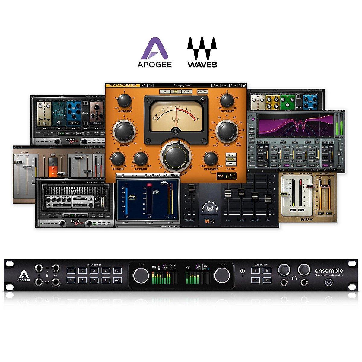 Apogee Ensemble Thunderbolt オーディオインターフェイス ENSEMBLETHUNDERBOLT 【正規輸入品】 B00O9VR75C