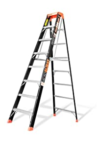 Little Giant, 15710-001, Stepladder, Fiberglass, Ia, 8Ft, Microburst