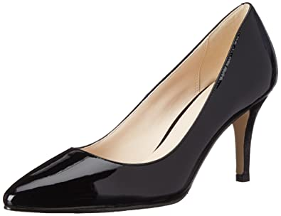 Cole Haan Women's Juliana 75 Dress Pump, Black Patent, ...