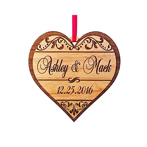 personalized engraved ornaments amazon com