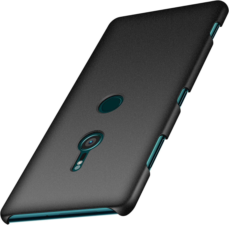 Amazon Com Anccer Colorful Series For Sony Xperia Xz3 Case Ultra Thin Anti Drop Premium Material Slim Cover For Sony Xperia Xz3 Not For Xperia Xz2 Gravel Black