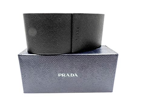 1e073c0bf78 Image Unavailable. Image not available for. Color  Prada Black Sunglass Case
