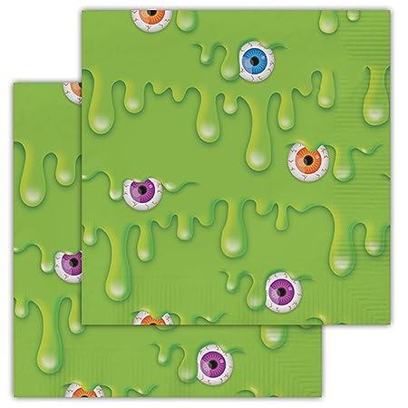 60 servilletas de 3 capas con temática de limo divertido ...