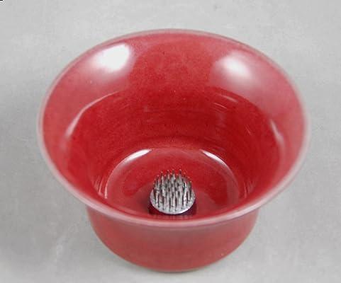 Vase Ikebana Style Bud Vase in Red