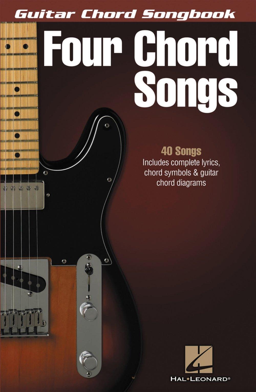 Amazon Hal Leonard Four Chord Songs Guitar Chord Songbook