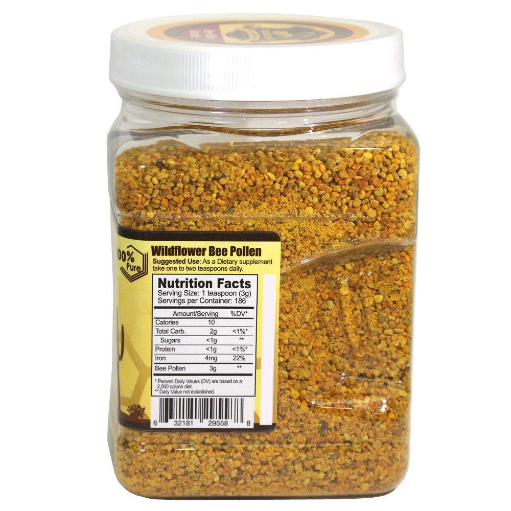 Nanowell® - Arizona Desert Wildflower Bee Pollen Granules 19.75 Oz (1.234 Lb / 560g) by NANOWELL (Image #3)