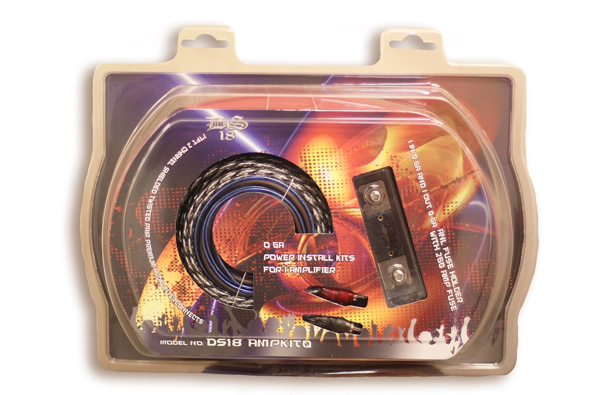 Knukonceptz Kca True 1 0 Gauge Power Amp Wiring Install Kit W 250a