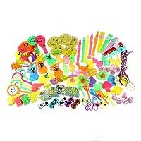 Zcoins 100 PCS Jouet Assortiment pour Enfants Party Favors Fournitures Fille Garçon d'anniversaire Cadeau Sacs Pinata Fillers Enfants Carnaval Prix Récompense de L'école