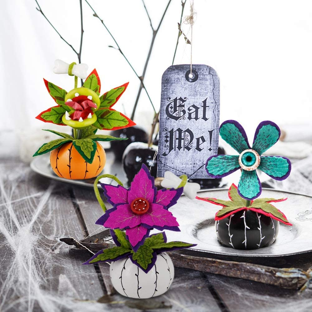 Halloween Artificial Flower Arrangements by Hyde & Eek