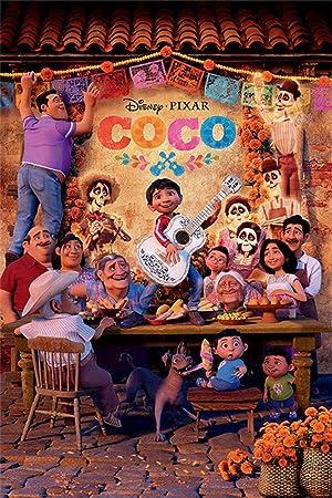 Póster Disney Pixar Coco - Family (61cm x 91,5cm)