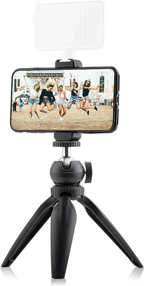 Mini trípode Vlog Kit para smartphone, cámara y GoPro – con ...