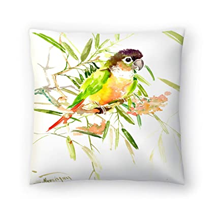 Buy American Flat Parrot Pillow By Suren Nersisyan 20 X 20 Online At Low Prices In India Amazon In