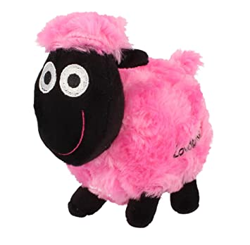 wacky woollies small sheep soft toy tipsy the pink sheep amazon