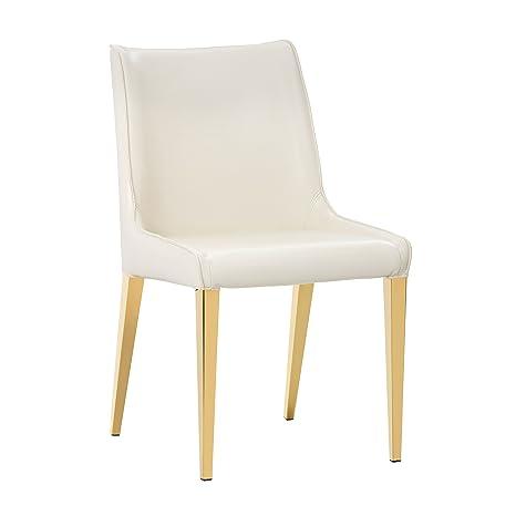Amazon.com: sunpan moderno Lawrence silla de comedor ...