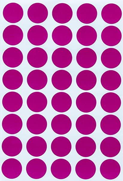 amazon com sticker dots labels color stickers 19mm 3 4 inch