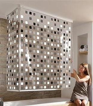 duschabtrennung badewanne rollo. Black Bedroom Furniture Sets. Home Design Ideas