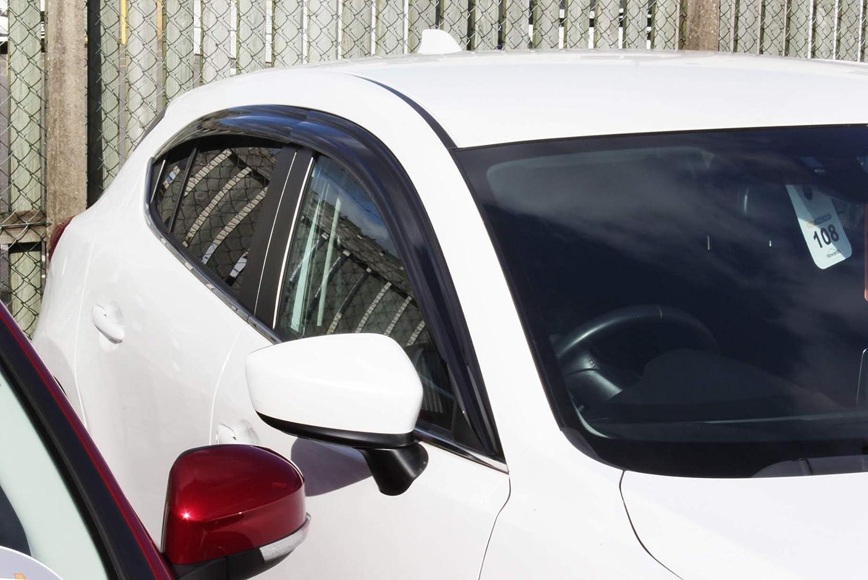 Autoclover 6 Unidades Juego de deflectores de Viento para Mazda CX-5 2018+