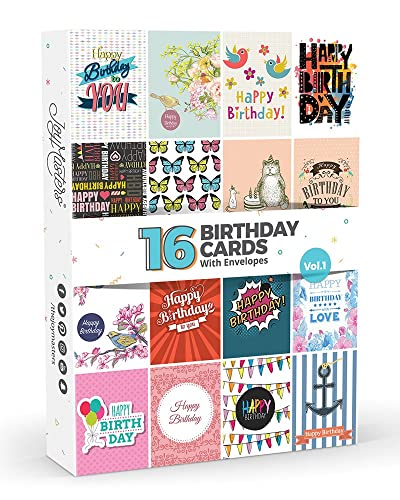 12 Humour Birthday Cards Blank Greetings Amazon Office