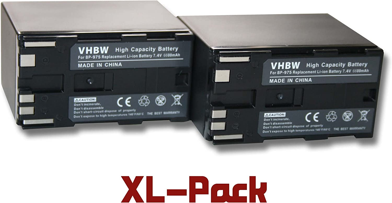 C500 PL sustiuye a: BP-955 XF105 EOS C100 XF300 C500 C300 PL BATER/ÍA LI-Ion 6600mAh Apta para Canon XF100 BP-975 C300 XF305