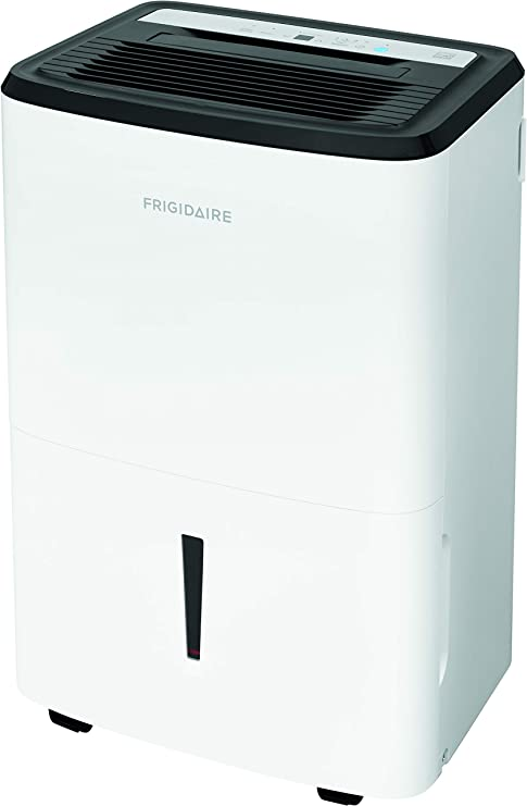 Frigidaire High Efficiency 50-Pint Dehumidifier with Built-in Pump
