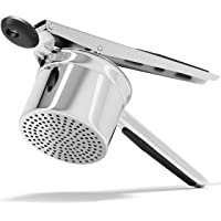 PriorityChef Large 15oz Potato Ricer, Heavy Duty Stainless Steel Potato Masher and Ricer Kitchen Tool, Press and Mash…
