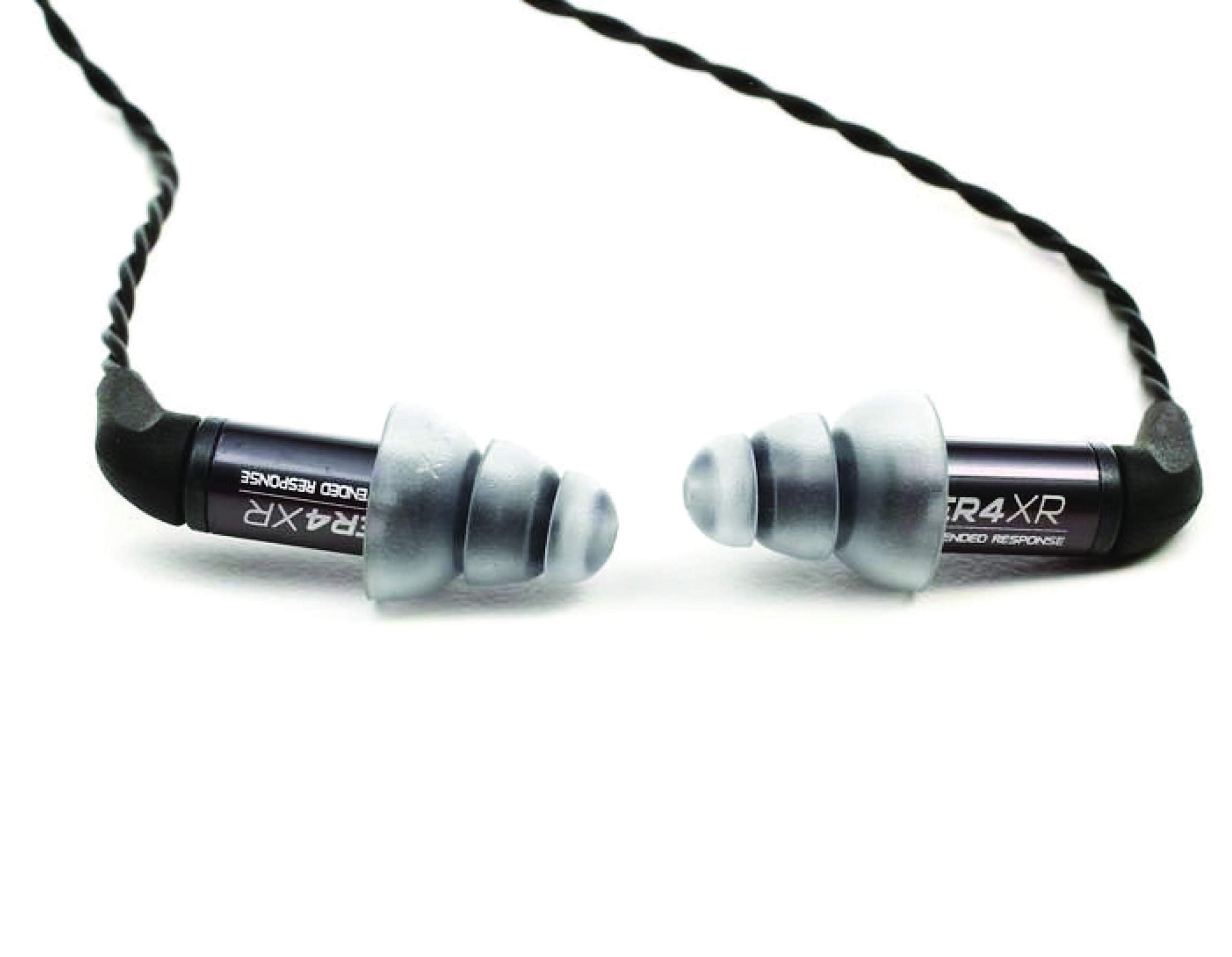 Etymotic Research ER4XR Extended Response Precision Matched In-Ear Earphones (Detachable Balanced Armature Drivers, Noise Isolating, High Fidelity, World Leader Response Accuracy) , Black , Standard