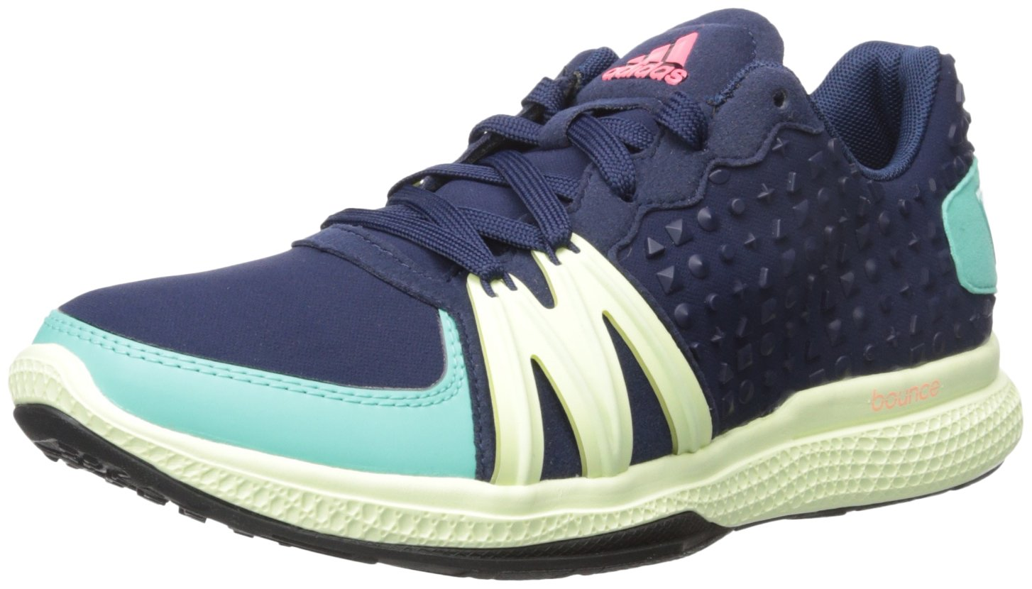 adidas Performance Women's Ively Cross-Trainer Shoe, Night Indigo/Joy Green/Flash Red, 9.5 M US