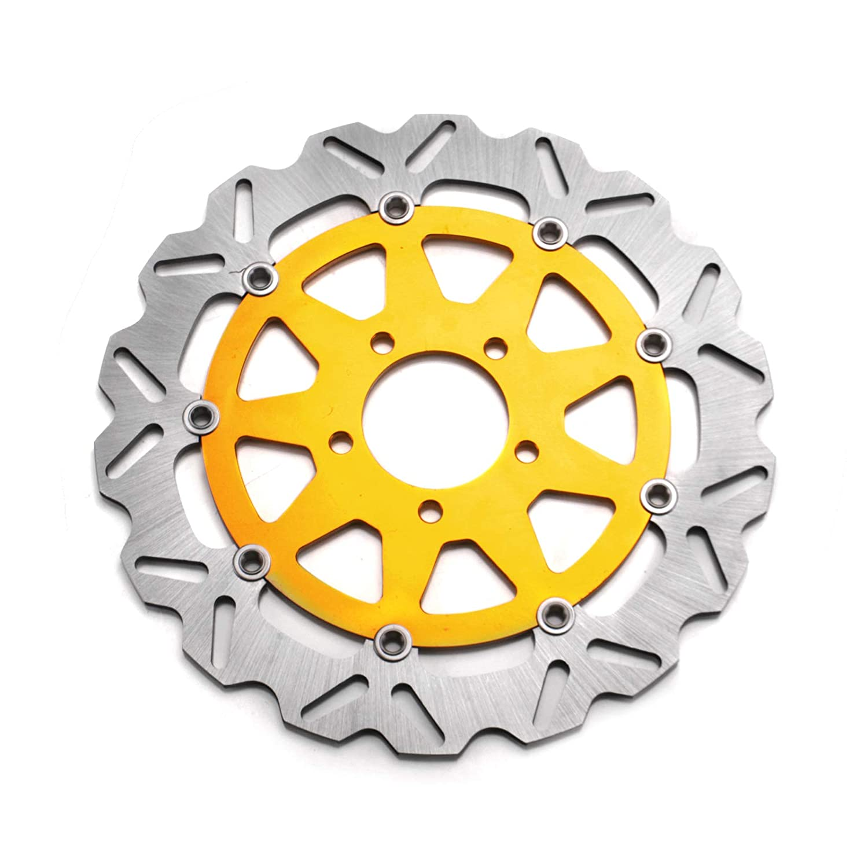 Amazon com: ANUESN L+R Motorcycle Brake Disc Rotors Fit