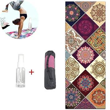 CWDXD Toalla Antideslizante de Yoga, Secado rápido, Ligeras ...