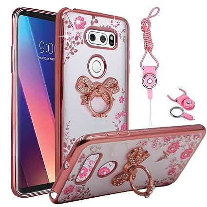 Amazon.com: LG V30 Funda, LG V30 Plus funda, mejor Alice ...