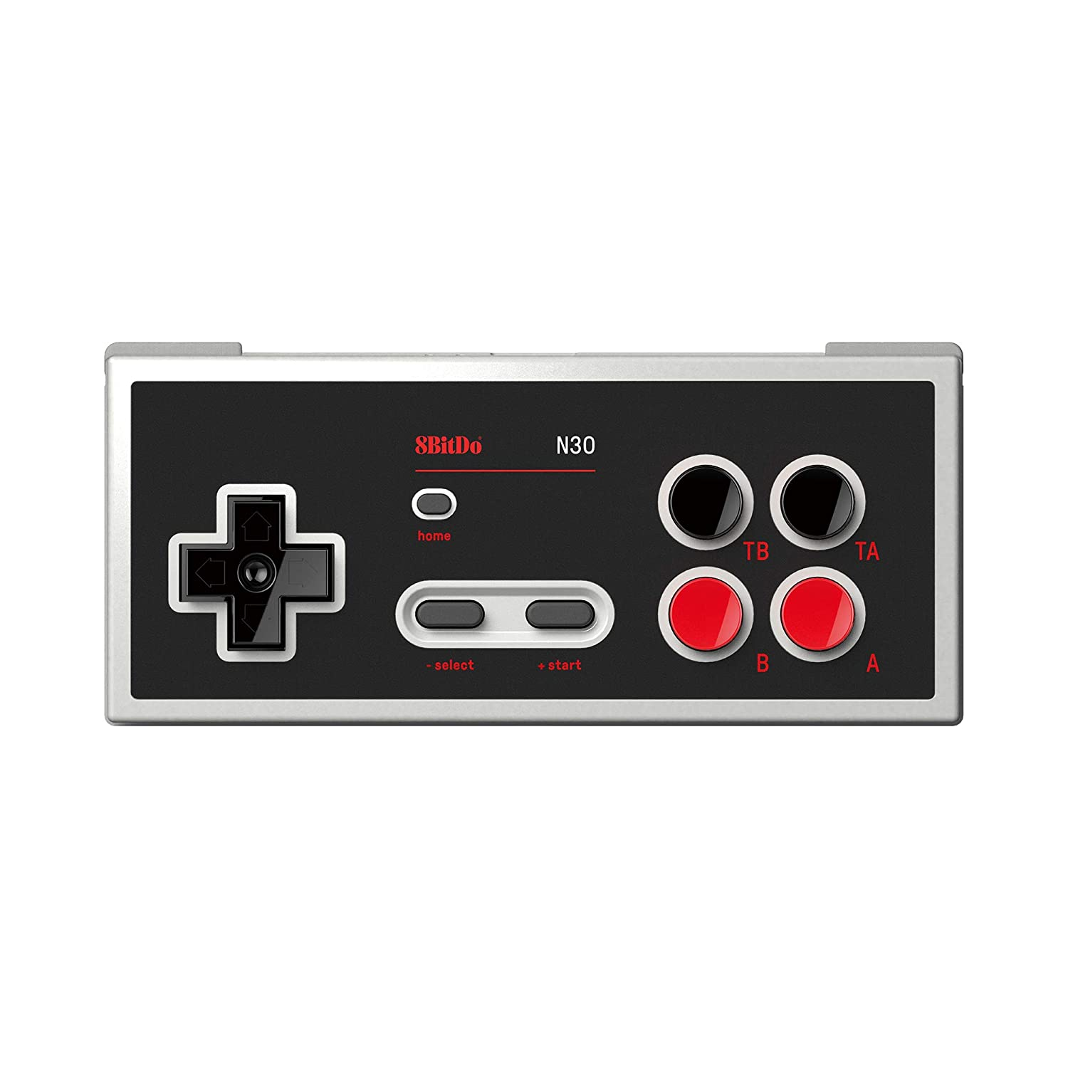 Amazon Com 8bitdo N30 Bluetooth Gamepad With Turbo And Home Buttons Video Games