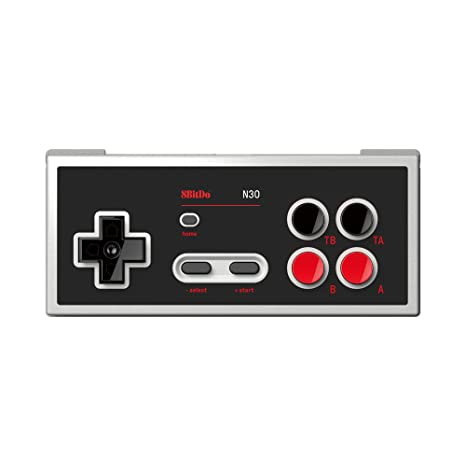 8BitDo N30 Bluetooth Gamepad for Switch Online Game Support Turbo and Home [Nintendo Switch Online
