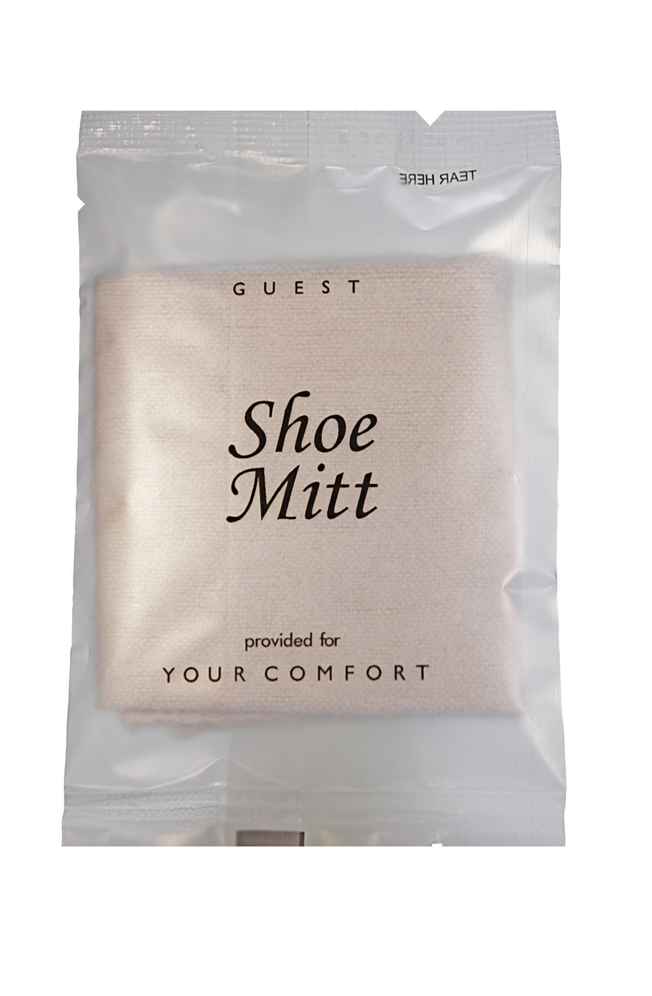 Shoe Mitt Frosted Sachet Wrap (Case of 500) by Generic