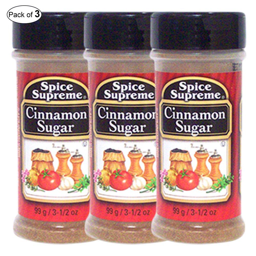 Spice Supreme- Cinnamon Sugar (99g) (Pack of 3)