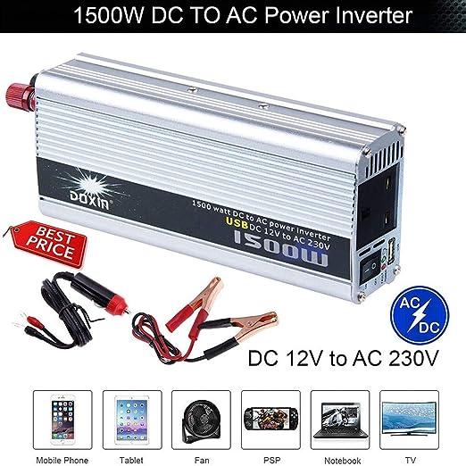 Convertisseur de Tension 24v 1500 3000 Watt Onduleurs Onduleur