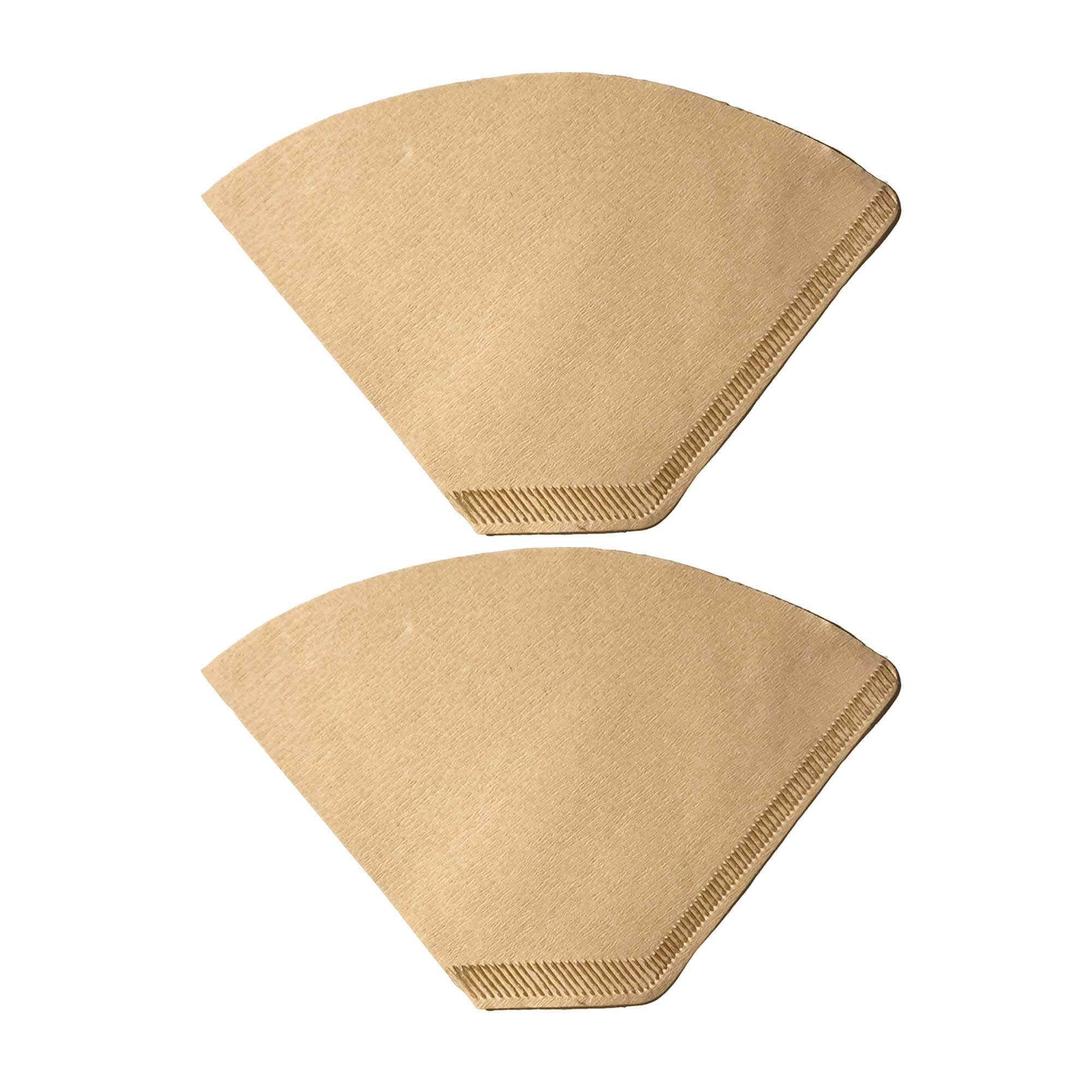 Think Crucial 200 Replacement #2 Coffee Filters Premium Unbleached, All Natural, Brew Brown Paper Cone, Fits All Coffee Makers With #2 Number 2 Coffee Basket Holder including Melitta