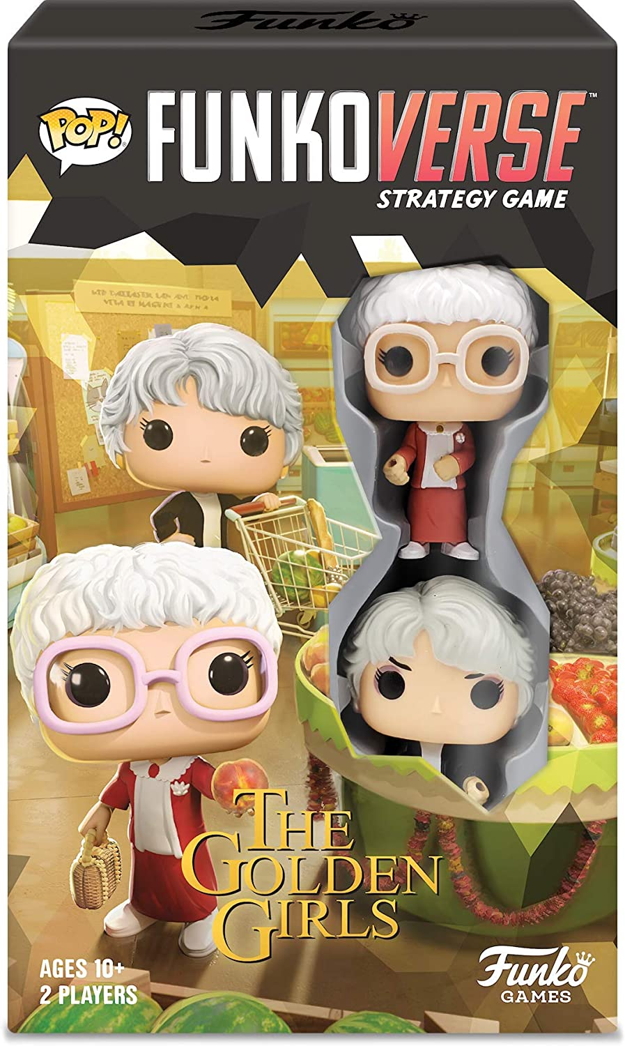 Funko Pop Funkoverse Strategy Game: The Golden Girls 101 #45317