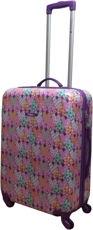 Gabol Love Maleta, 64 cm, 55 litros, Multicolor