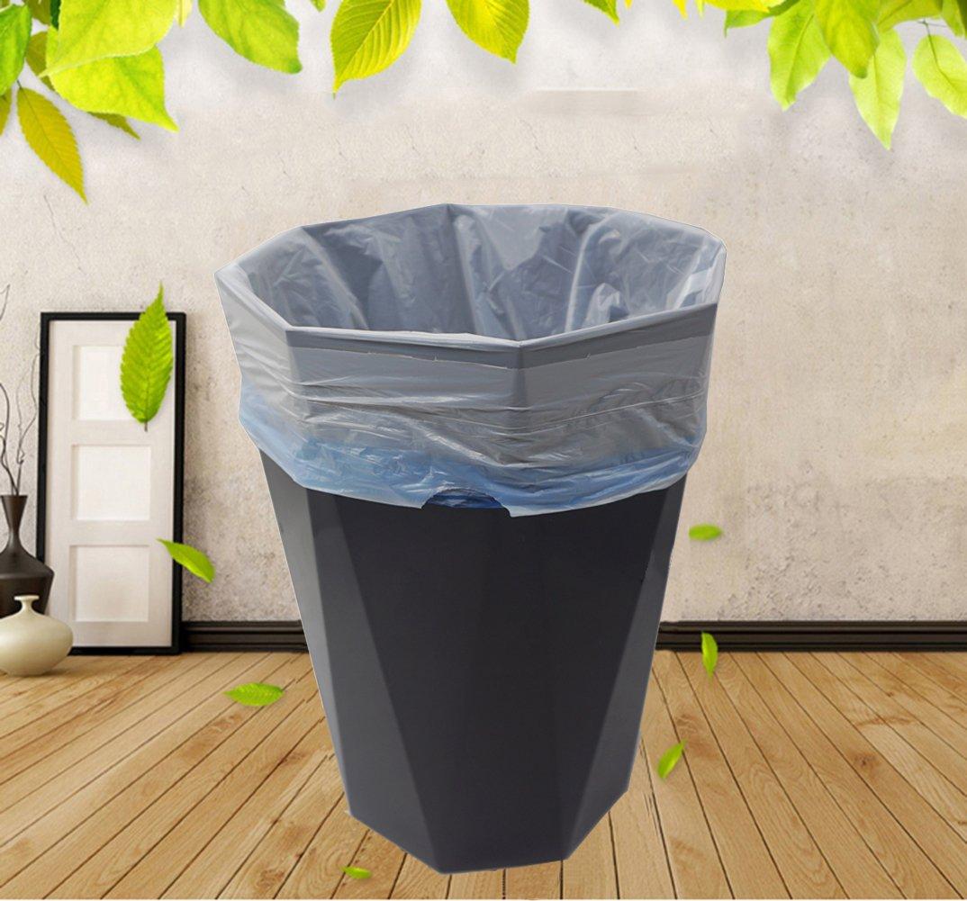 1.6 Gallon Drawstring Trash Bag Garbage Bag Trash Can Liner,Extra Strong 120 Counts for Home,Office,Car Gereen Small Trash Bag