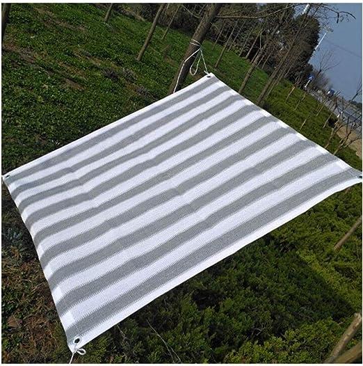 GuoWei- Velas de sombra 80% Solar Obstruido Red Malla con Ojal Jardín Patio Al Aire Libre Personalizable (Size : 3x7m): Amazon.es: Jardín